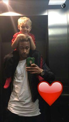 Neymar and Davi via Snapchat (28.01.16)