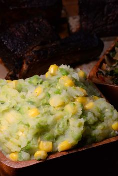 Kenyan Irio (Mashed Potatoes, Peas and Corn) - International Cuisine Veggie Dishes, Vegetable Recipes, Side Dishes, Indian Food Recipes, Ethnic Recipes, Kenyan Recipes, African Recipes, Kenya Food, Cooking Recipes