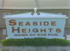 1980s Seaside Heights, NJ Shore