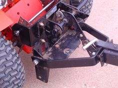 Installed a sleeve hitch on the 67 Suburban - Garden Tractors