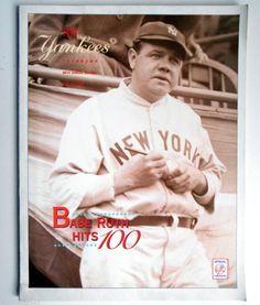 New York Yankees Yearbook 1995 Collectors Item Derek Jeter and other Yankees