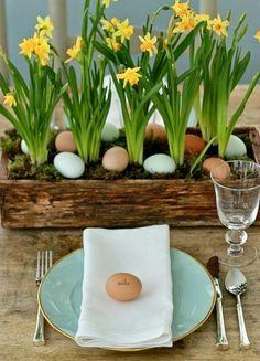 Blog wnętrzarski - design, nowoczesne projekty wnętrz: Wielkanocne dekoracje - design w domu