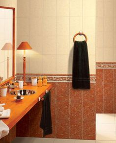 30 Bathroom Tile Ideas That Will Astonish You: Tile Listello = Quick Bathroom Elegance