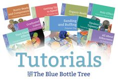 The Blue Bottle Tree is the trusted destination for polymer clay tutorials and information. Both beginners and professional clayers value this source!