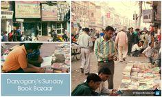 Daryaganj's Sunday Book Bazaar, #Delhi Places Of Interest, Sunday, Books, Domingo, Libros, Book, Book Illustrations, Libri