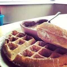 Oban Chocolate Company in Oban Chocolate Company, Cheesecake Brownies, Hot Chocolate, Gingerbread, Waffles, Eat, Breakfast, Food, Morning Coffee