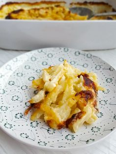 Janssons frestelse- extra krämig - ZEINAS KITCHEN Swedish Traditions, Swedish Recipes, Holiday Recipes, Macaroni And Cheese, Nom Nom, Seafood, Food Porn, Food And Drink, Tasty