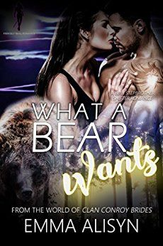 What a Bear Wants: Clan Conroy Brides, Emma Alisyn - What do you do when your mate is the boy you grew up with? https://www.amazon.com/dp/B01C348AB6/#emmalisyn #alpha #male #alphamale #bbwfiction #bbw #bear #shifter #stepbrother #stepbrotherromance #bearshifter #paranormal #romance #paranormalromance #PNR #ku #kindleunlimited #free #romance #kindle #indieauthor