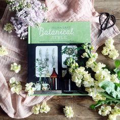 Totally in love with @selinalake's new book Botanical Style.  Includes lovely images from my favourite @thefreshflower1. And it's perfect inspiration for our #makeflorallight project xo