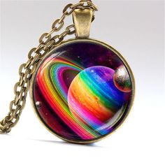 Gay Pride Necklace Same Sex LGBT Jewelry  With Rainbow Love Wins Perfect  Gift #Unbranded #Chain
