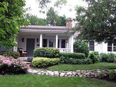 Front walkway and garden