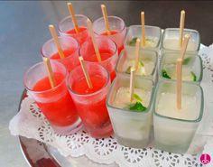 Ice Pops, Poptail, Popsicle oder einfach Cocktail-Eis am Stil