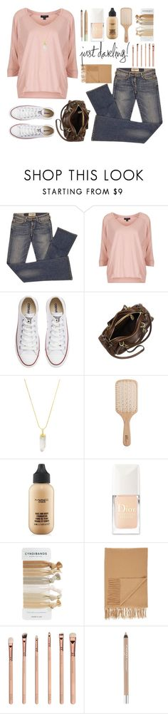 Simple in Neutral by cindycook10 on Polyvore featuring Topshop, Elizabeth and James, Converse, Chloé, American Coin Treasures, MAC Cosmetics, CARGO, Christian Dior, Philip Kingsley and Pixi