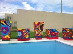 Decorated Flower Pots, Painted Pots, Terracotta Pots, Ideas Para, Craftsman, Planters, Canning, Memes, Paper