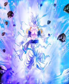 Dragon Ball Z, Gogeta And Vegito, Naruto Art, Awesome Anime, Cool Posters, Anime Art, Dbz Vegeta, Epic Characters, Field Hockey