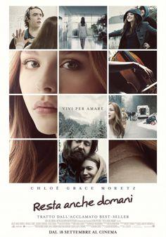 Resta Anche Domani dal 18 settembre 2014 al #cinema  #film #trailer .... adattamento cinematografico del romanzo best-seller di Gayle Forman Resta Anche Domani (If I Stay)