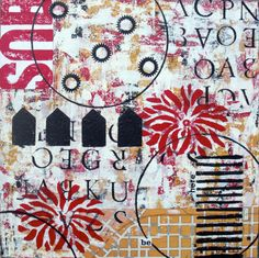 Kim Hambric Art  http://www.etsy.com/listing/84136283/original-mixed-media-abstract-collage?ref=v1_other_2