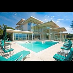 My future #house #crib #mansion #glass #pool #water #big #huge