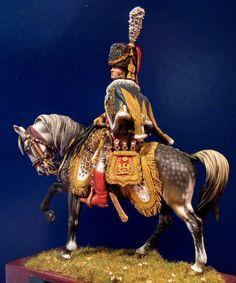Marechal Adolphe Mortier, colonel-general de l'artillerie de la Garde. By Ivo Preda