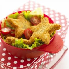 These tasty veggie bites or burgers are a good way to encourage children to eat more vegetables, as here the veggies are mashed up—and not being visable, they can't be picked out. - parenting.com