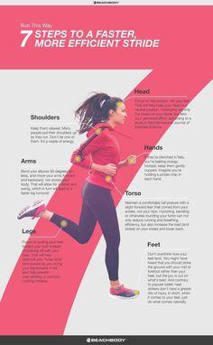How to Improve Your Running Form // fitness // run // tips // cardio // running technique // marathon training // half marathon // 5K // 10K // running for beginners // Beachbody // http://BeachbodyBlog.com #runningtraining #trailrunningbeginner