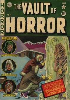 Cover for Vault of Horror (1950 series) #22