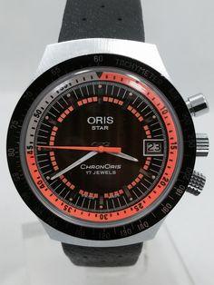 FS: NOS Oris Chronoris with Stunning Dial