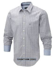Vedoneire - Mens Cotton Check Shirt (2295) with Oxford Trim various colours, £34.99 (http://www.vedoneire.co.uk/mens-cotton-check-shirt-2295-with-oxford-trim-various-colours/)