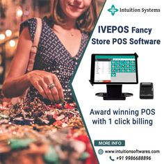 Need a best pos software system for your fancy store business? 👉 Try IVEPOS Point of Sale Software - The best POS software for fancy store. Grow your business with IVEPOS 💯 Fancy Store, Retail Customer, Point Of Sale, Liquor Store, Business Management, Growing Your Business, Pos, Intuition, Software
