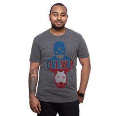 Captain America Civil War Reflection Tee | ThinkGeek