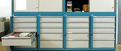 Lista Lockers: shallow drawers
