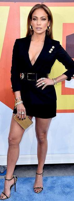 J Lo in Versace