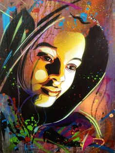 Street Art- C215 (Christian Guémy) recently left some works in Paris, beautiful, amazing, great...