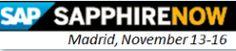 Analytics at SAPPHIRENOW from Madrid