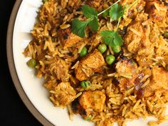 """Chicken Biryani"" in a pressure cooker from Cookstr.com #cookstr"