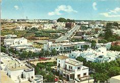 Rota Spain circa 1968. Rota Spain, Canary Islands, Paris Skyline, Mansions, House Styles, Beach, 1960s, Military, Travel