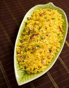 Fragrant Lemon Rice: http://life.gaiam.com/article/gluten-free-vegetarian-indian-recipes #vegetarian #vegan #glutenfree