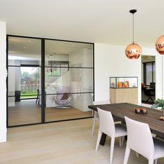 vaste wand met deur www.homemetal.be