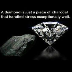 A diamond...
