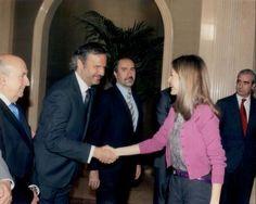 Audiencia con la Princesa de Asturias