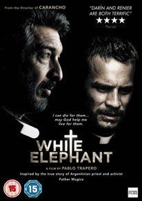 ELEFANTE BLANCO/WHITE ELEPHANT (15) 2012 ARGENTINA TRAPERO,  PABLO   £19.99 Drama follows  the efforts of two priests to help the residents of a slum in Buenos Aires