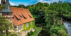 Gutshaus des Rittergutes Wichtringhausen in Niedersachsen (Freiherren Langwerth von Simmern)