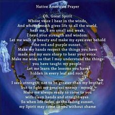Cherokee Indian Prayer - I am Choctaw, one of the seven nations of the Cherokee tribe Native American Prayers, Native American Spirituality, Native American Cherokee, Native American Wisdom, Native American Beauty, American Indians, Cherokee Indians, American Art, Cherokee Symbols