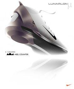 Sketches we like / Shoe / Nike / Digital Sketch / Shading / Softgoods / at tastysketch