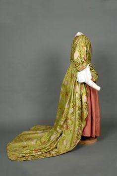 Mantua.18th century (1710). Shrewsbury Museums Service
