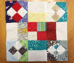 Fluffy Puppy Quilt Works: Scrap Block #23
