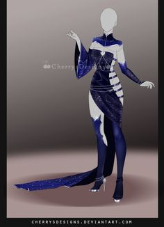 (closed) Outfit Adopt 711 - stargazer by CherrysDesigns