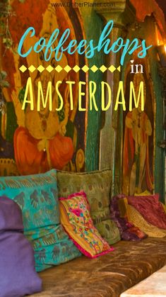 Guide to Amsterdam's Coffeeshops. Inside Kashmir Coffeeshop, Oud-West by Michael Delaney (CC BY-SA 2.0) via Flickr