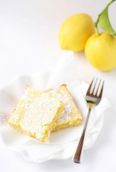 Still on the hunt for the perfect lemon bar. Next recipe to try: Sweetcakes Bakeshop: Lemon Bars Yummy Treats, Sweet Treats, Yummy Food, Lemon Recipes, Sweet Recipes, Biscuits, Lemon Bars, Dessert Bars, Just Desserts