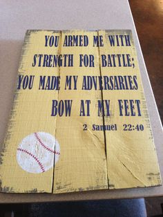 You armed me with strength for battle.......
